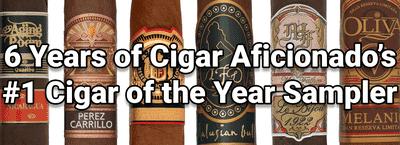 Cigar Aficionado Cigar of the Year Sampler