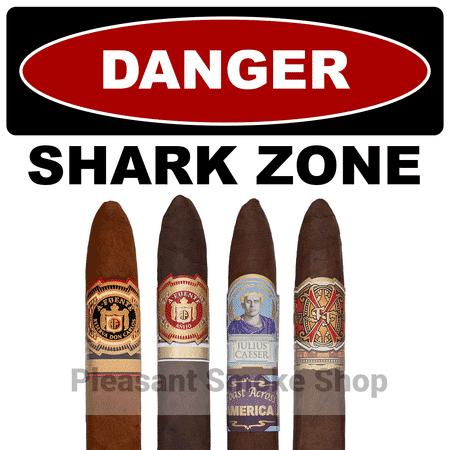 image of 5 shark cigars